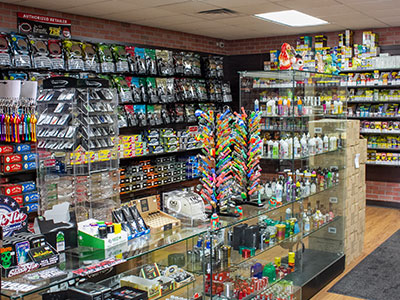 Our Selection of Grinders & Tubes, Torches & Butane, Glass Water Pipes, Hitter Boxes, Incense & Candle, Detox Products